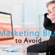 PPC Marketing Blunders