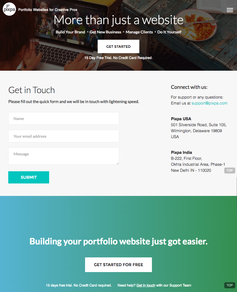 """Contact Us: 10 Inspirational """"Contact Us"""" Page Examples To Complement"""