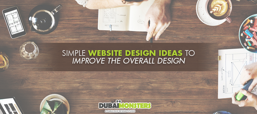 900x400 simple website design ideas to improve the overall design