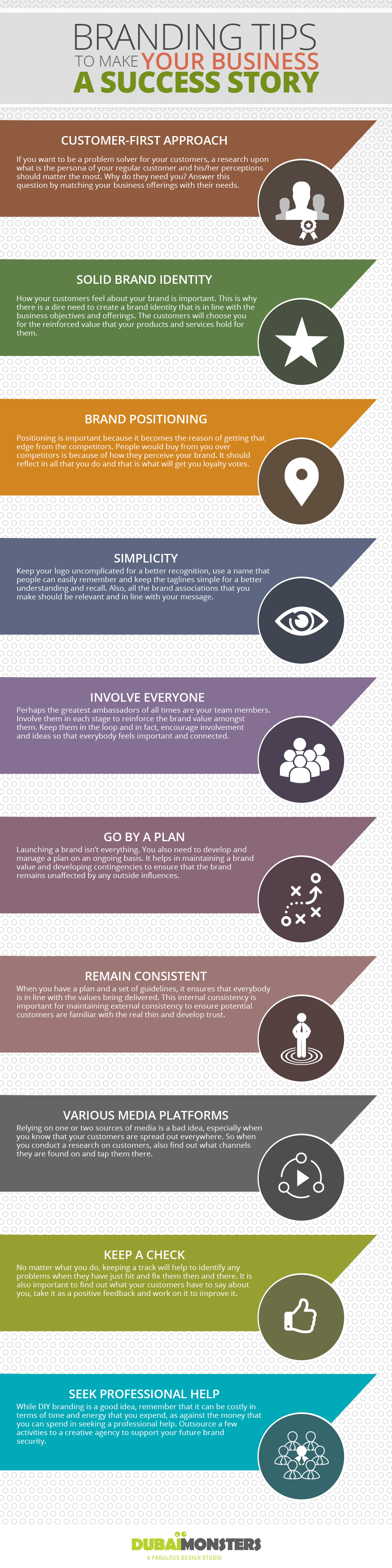 branding tips to make your business a success story