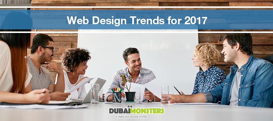 web design trends for 2017
