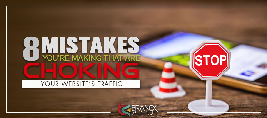 website traffic mistakes