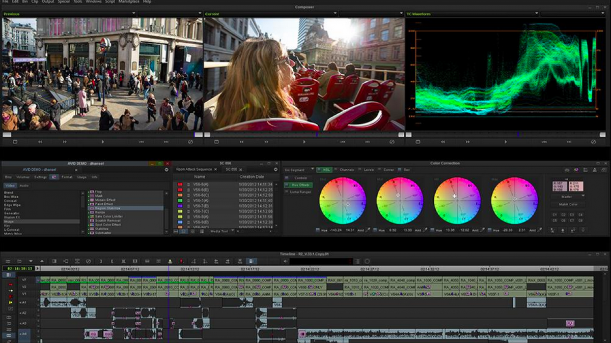 Avid Media Composer - video editing software