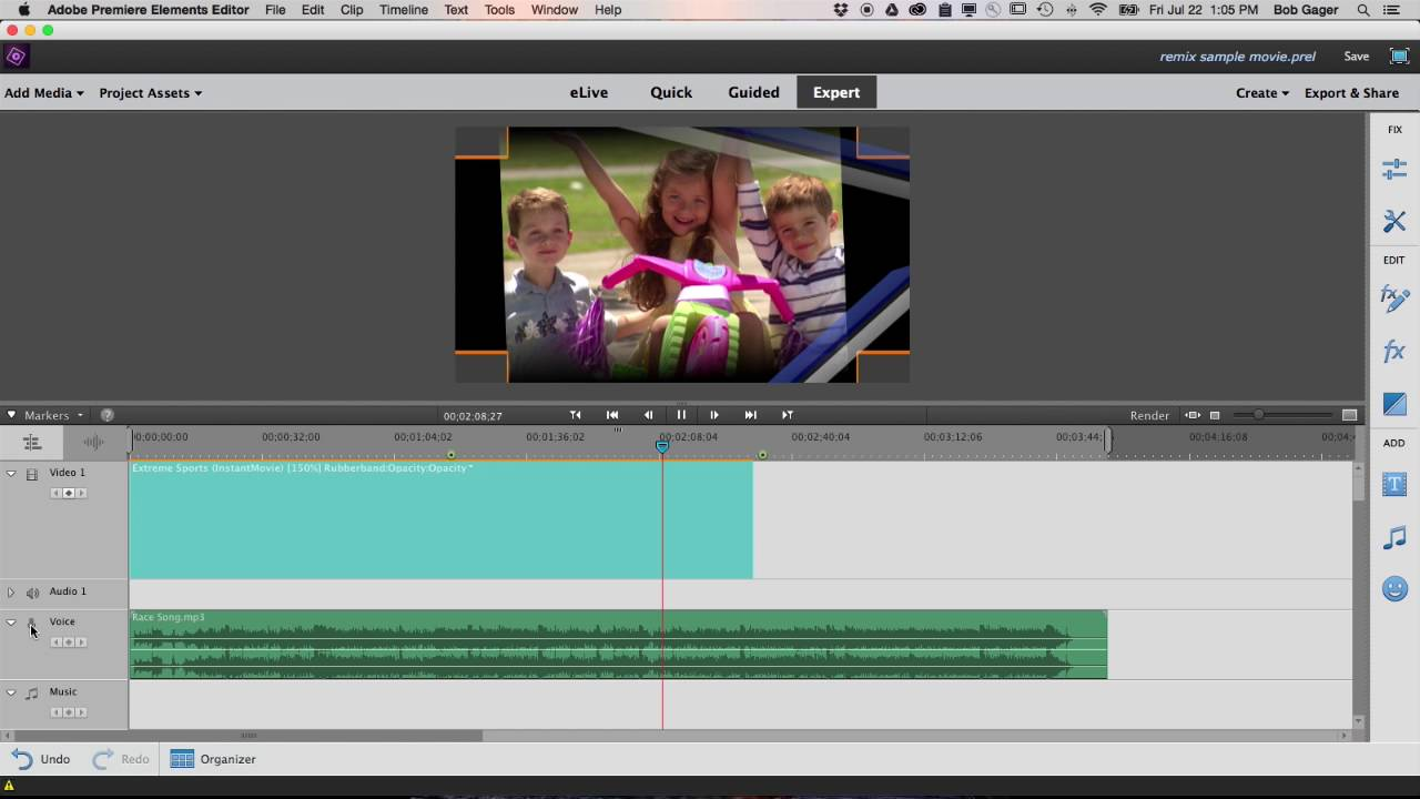 Premiere Elements 15 - video editing software