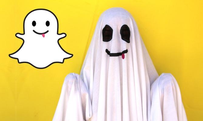 Snapchat Ghost - Halloween - Branex-ae