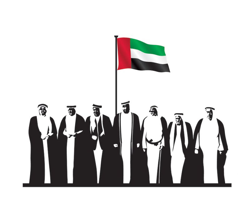 United Arab Emirates National Day, UAE National Day Flag