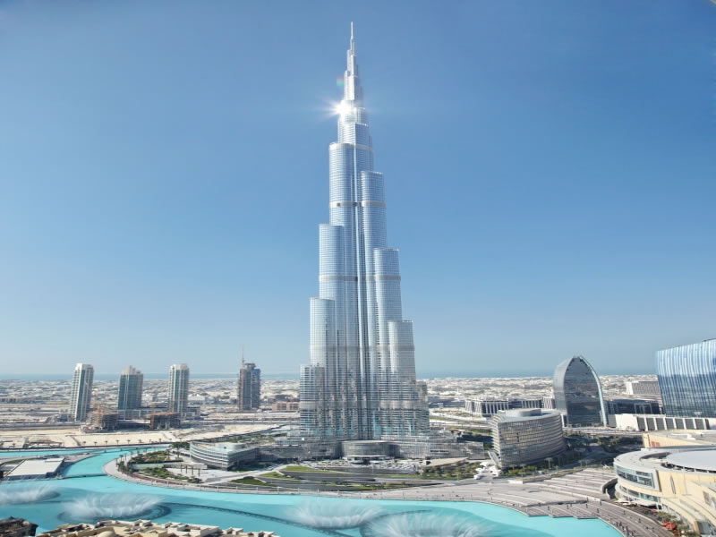 Burj Al Khalifa - Monuments of UAE