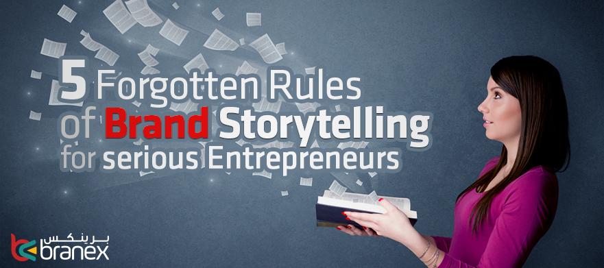 5 forgotten rules brand story