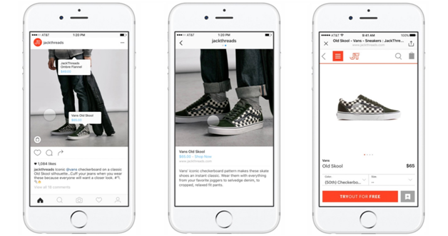 facebook launches instagram shopping