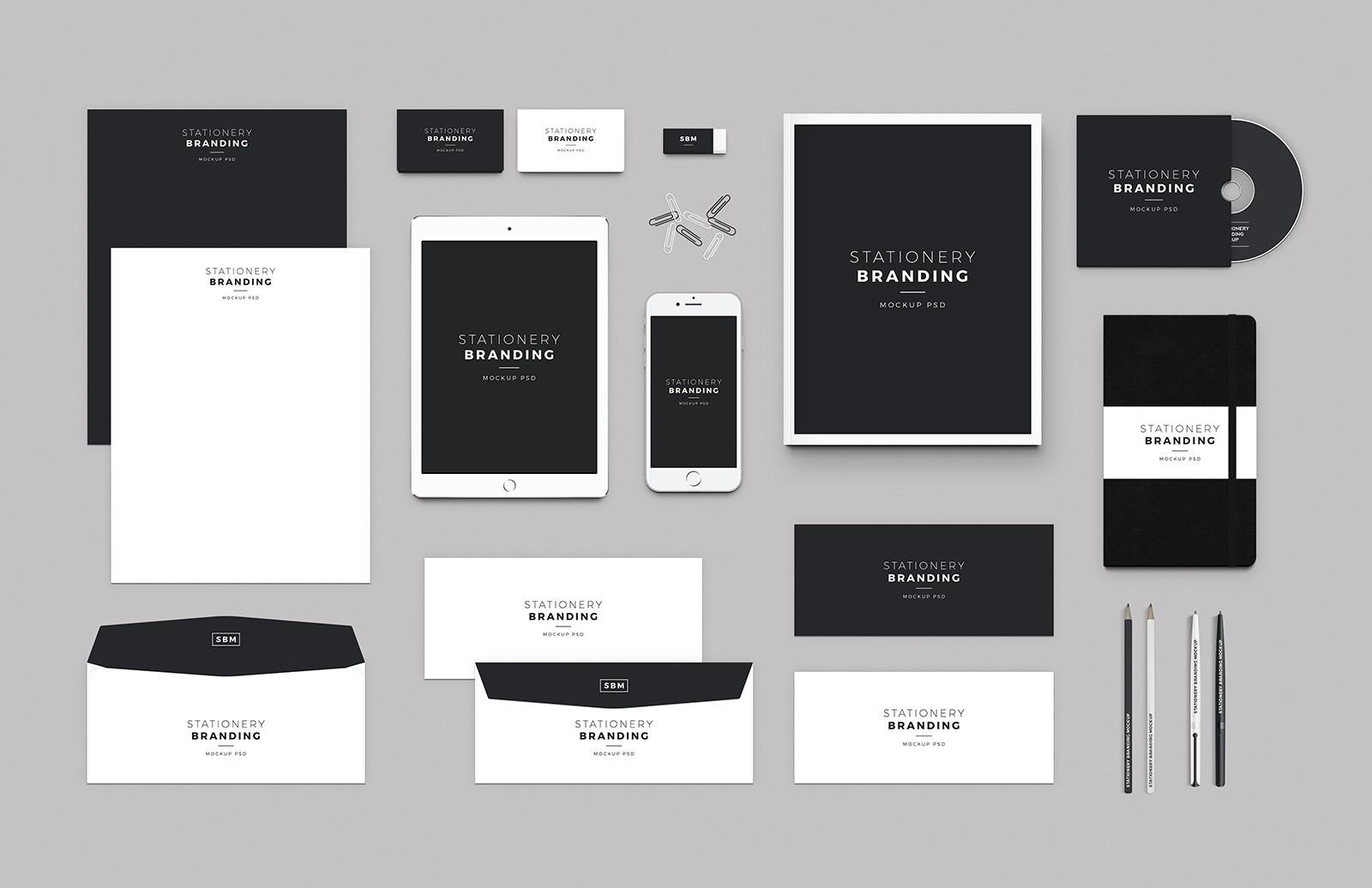branding mockup - Branex Dubai