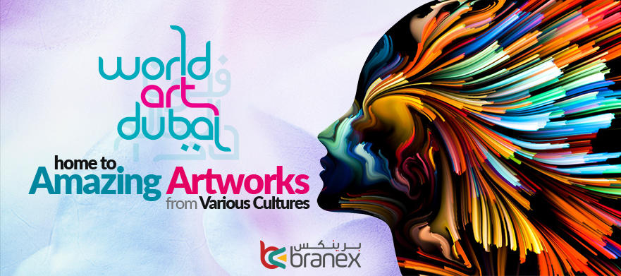world art dubai 2018 - Branex