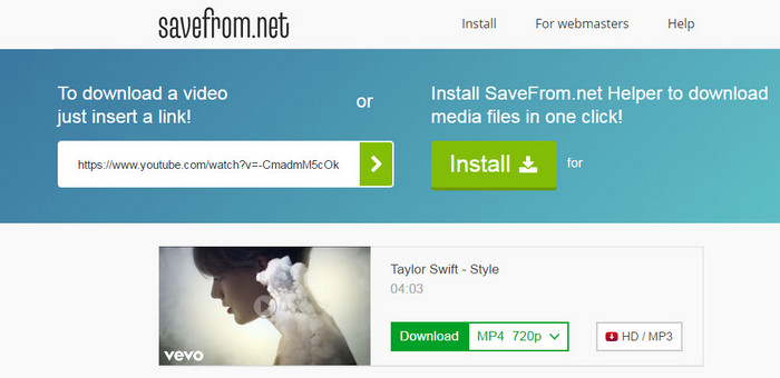 In Addition To Videos, Savefrom.net Also Integrates With Design Platforms  So Designers Can Pull Data Directly From Albums With User Photographs, ...