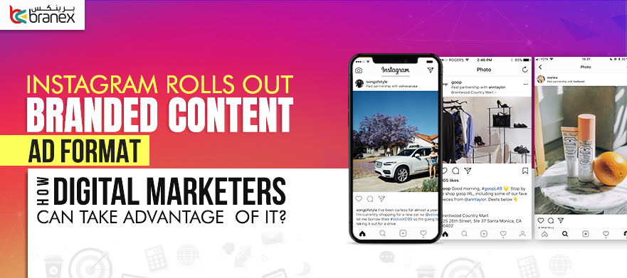 Instagram Rolls Out Branded content Ad format