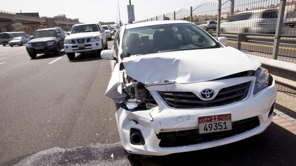 dubai police accident report