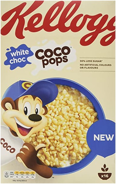 cocopops - brand salience